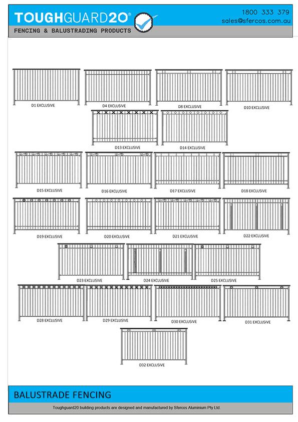 balustrades & fencing