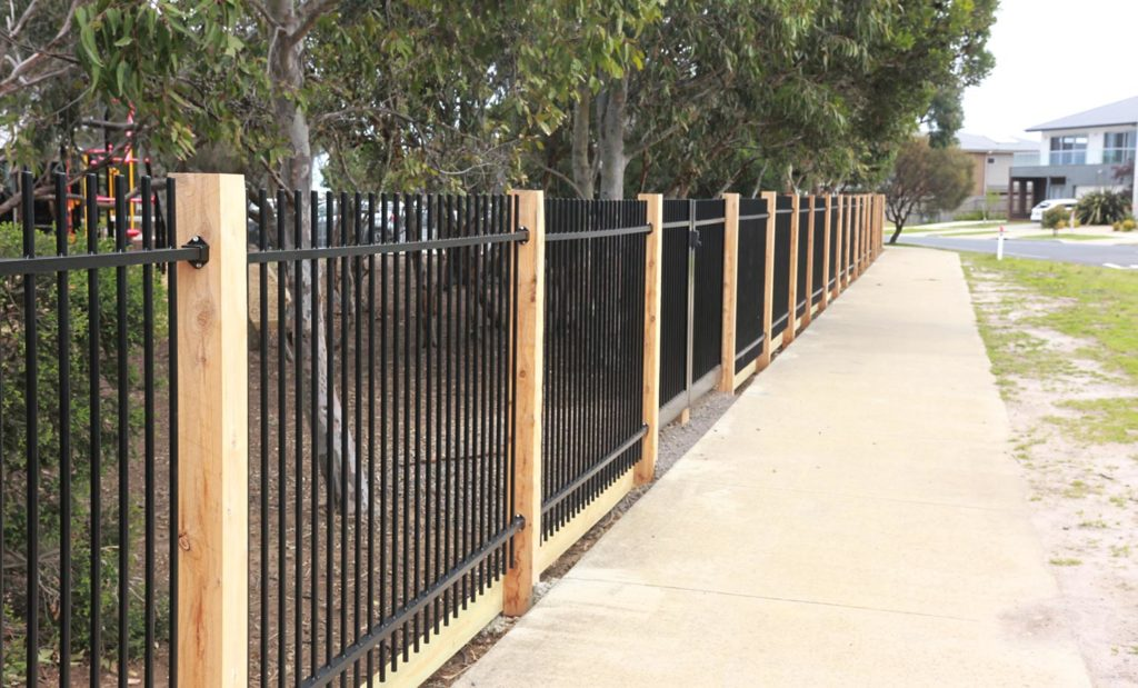 ToughGuard20 commercial fencing projects Torquay College