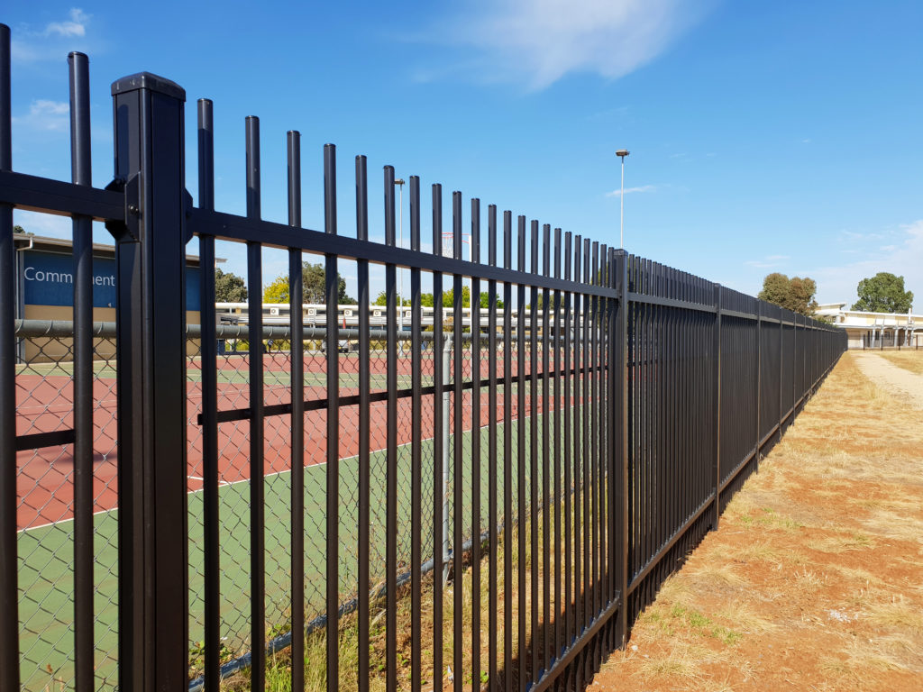 ToughGuard20 commercial fencing projects Lara Secondary College